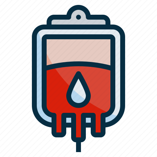 bag, blood, donation, health, medical, transfusion icon