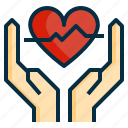 clinic, health, healthcare, healthy, heart, heartbeat, medical icon
