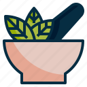 health, herb, herbal, medicine, organic, treatment icon