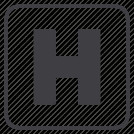 health, healthcare, hospital, medical icon