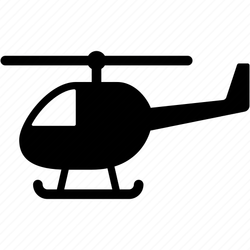 air, chopper, helicopter, plane, transport, transportation, vehicle icon