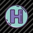 h, healthcare, hospital