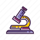 equipment, experiment, lab, microscope icon
