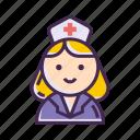 medic, nurse icon
