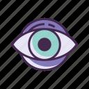 eye, eye care, optometric, optometrist, optometry icon