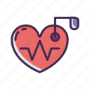 device, heart, heartbeat, pacemaker