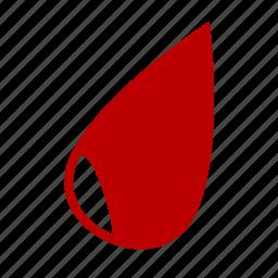 blood, drop, liquid icon