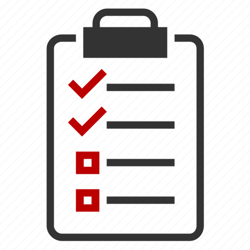 checkmark, clipboard, plan, prescription icon