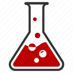 blood, chemical, experiment, flask, liquid icon