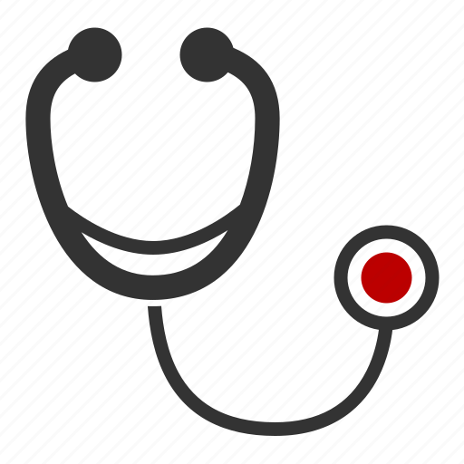 cardiac, exam, pulse, stethoscope icon
