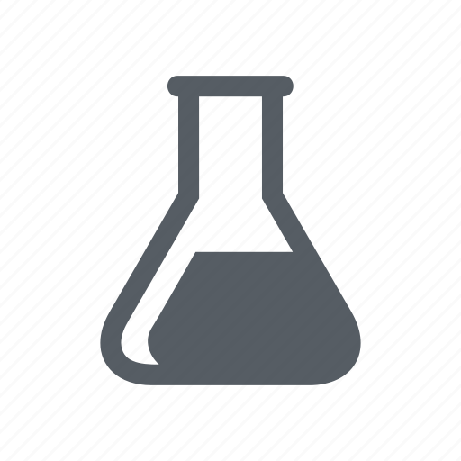 beaker, chemistry, flask, glass, laboratory, science icon