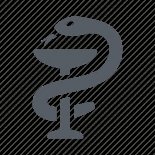drugs, healthcare, medicine, pharmacy, snake icon