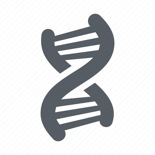chromosome, dna, genetic, molecule, science icon