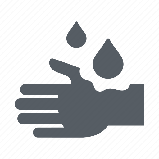 corrosive, hand, people, science, substance icon