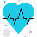 cardio, cardiography, cardiology, heart, heartbeat, pulse icon