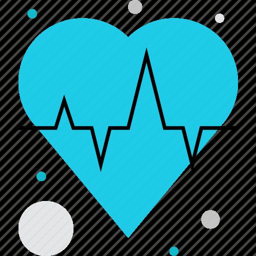 cardio, cardiography, cardiology, heart, heartbeat, pulse icon