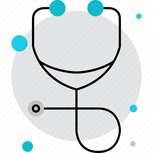 doctor, equipment, medical, physician, stethoscope, therapy icon