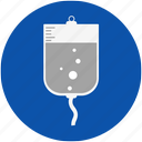 dextrose, health, hospital, medical, nurse, patient, sick, treatment icon