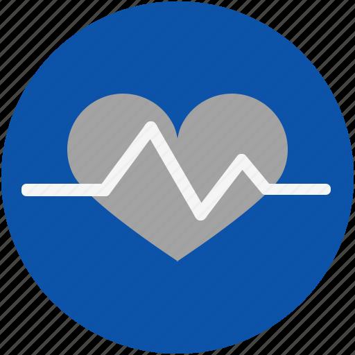 cardiac, cardio, death, heart, hospital, life, lifeline, medical, pulse icon