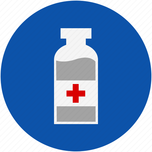 bottle, cough, drug, health, medical, medicine, pharmacy, syrup, treatment icon