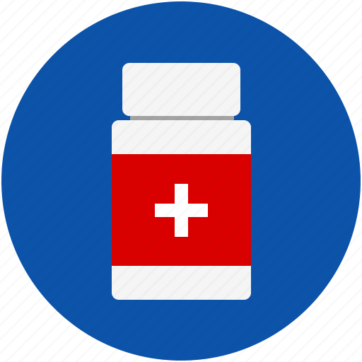 bottle, drug, health, hospital, medical, medicine, pharmacy, pill, prescription, treatment icon