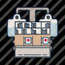 healthcare, hospital, medical, registry icon