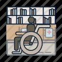 healthcare, hospital, medical, wheelchair