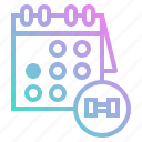 calendar, interface, organization, schedule, time