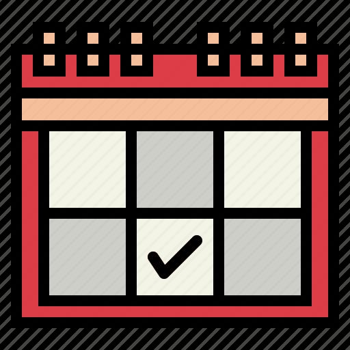 calendar, schedule, time icon