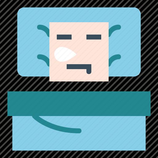 bed, bedroom, sleep icon
