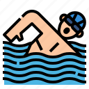 exercise, pool, sport, swimming, workout