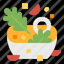 bowl, diet, food, healthy, salad