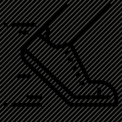 activity, running, shoe icon