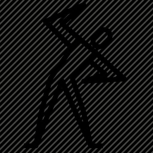 aerobics, agile, exercise, fitness icon