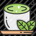 green tea, health, healthy, herb, hot icon