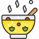 boiling, cooking, hot, kitchen, soup icon