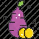 organic, potato, sweet, sweet potato, vegetable icon