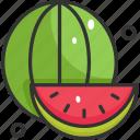 diet, food, fruit, vegan, watermelon icon