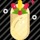 food, gastronomy, junk food, nutrition, wrap