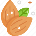 almond, almonds, healthy food, vegan, vegetarian