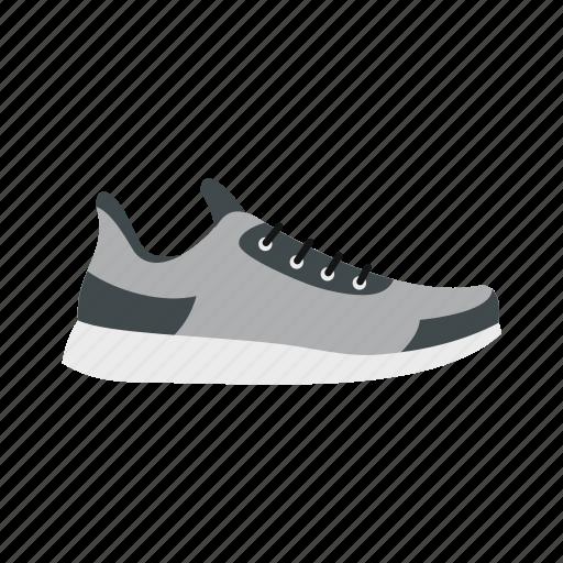 athletic, footwear, gray, running, shoe, sneaker, sport icon