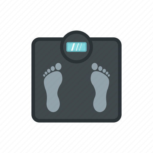 balance, floor, foot, health, lifestyle, scale, weight icon