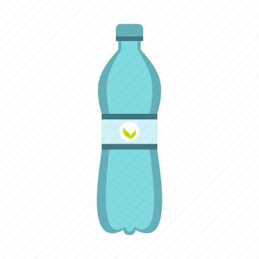 bottle, container, drink, health, plastic, transparent, water icon
