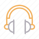 audio, earphone, gadget, headphone, music