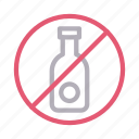 alcohol, notallowed, restrict, stop, wine icon