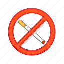 cartoon, nicotine, prohibited, sign, smoke, smoking, tobacco icon