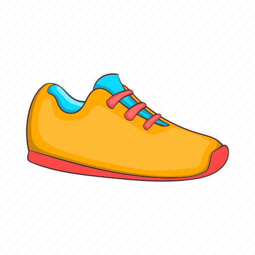 Cartoon, fashion, footwear, shoe, sign, sneakers, sport icon - Download on Iconfinder