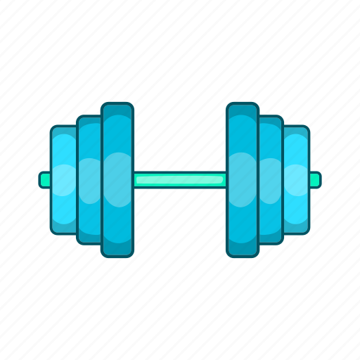 athletic, cartoon, equipment, exercise, gym, rod, sign icon