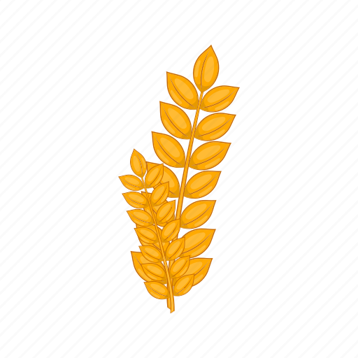 agriculture, cartoon, design, food, germ, sign, wheat icon