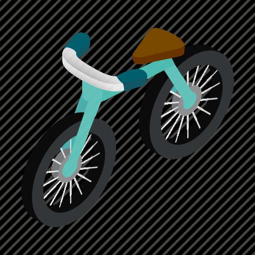 bicycle, bike, cycle, isometric, leisure, mountain, ride icon